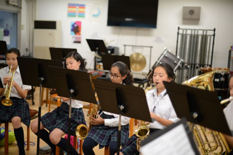 Seisen International School - Band