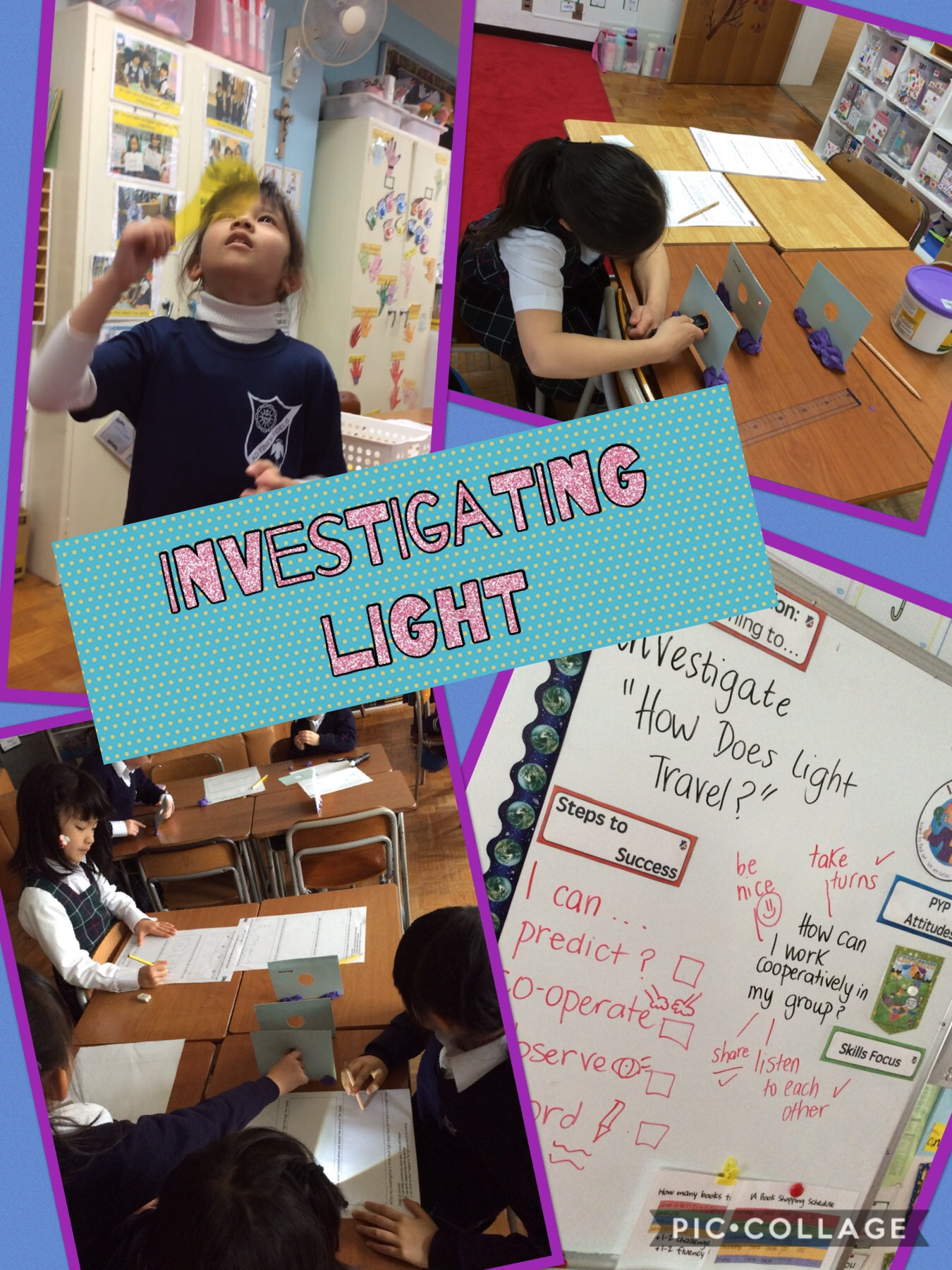 Investigating Light in Grade 1