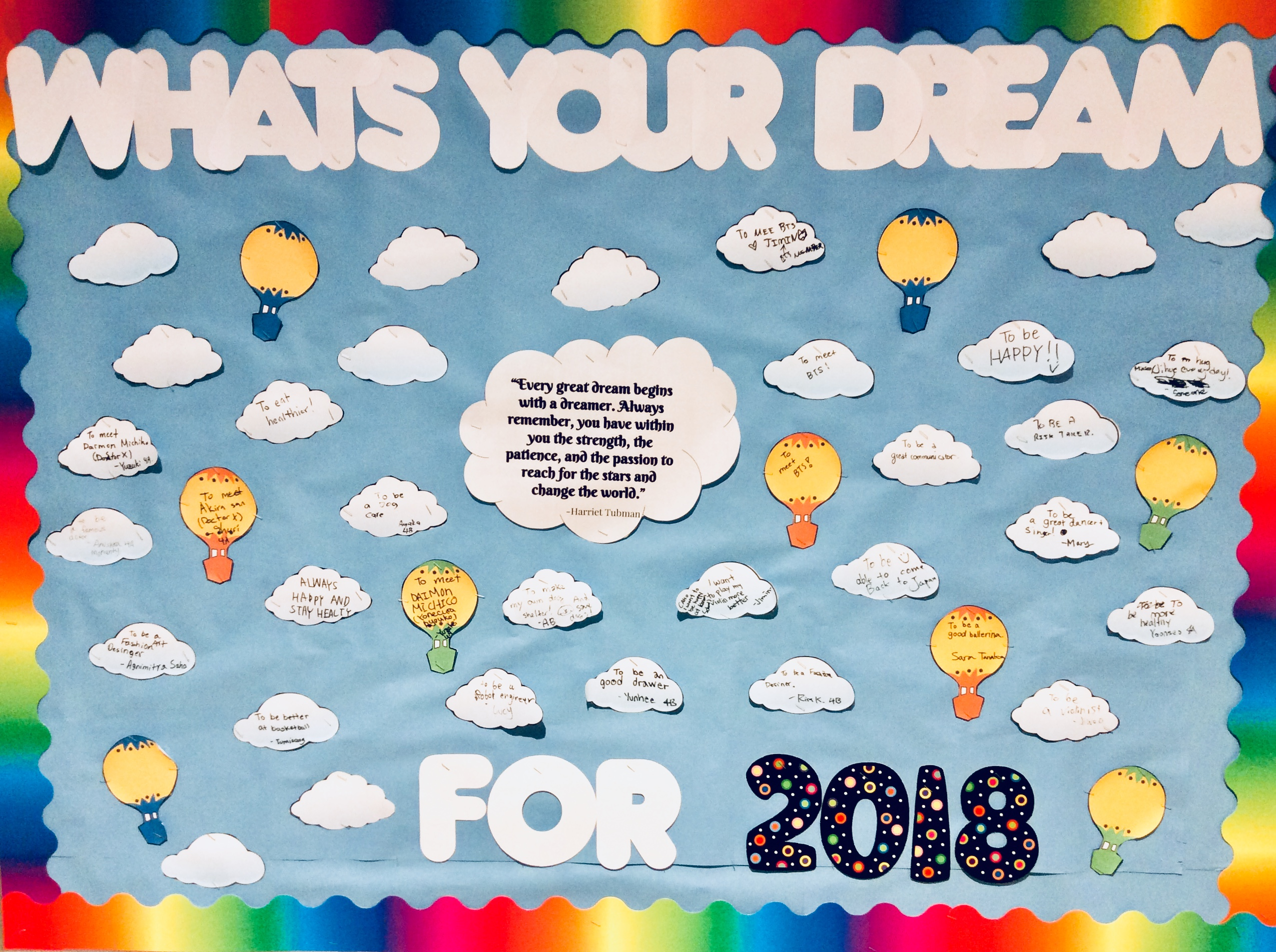 What's Your Dream for 2018?