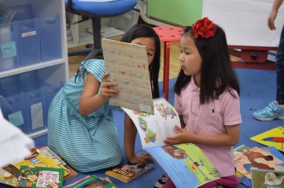 Pre-2nd Graders Experience All Genres Of Books