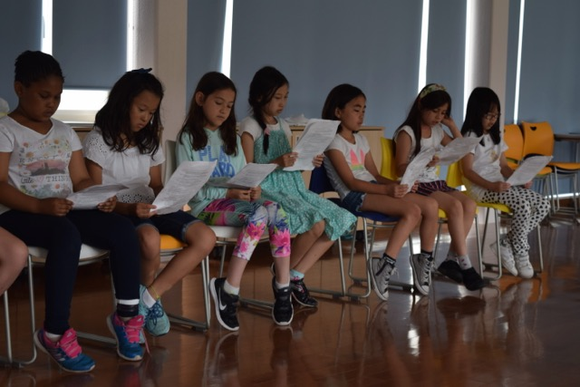 Pre-3rd Graders Practice Their Acting and Reading Skills In Readers Theater