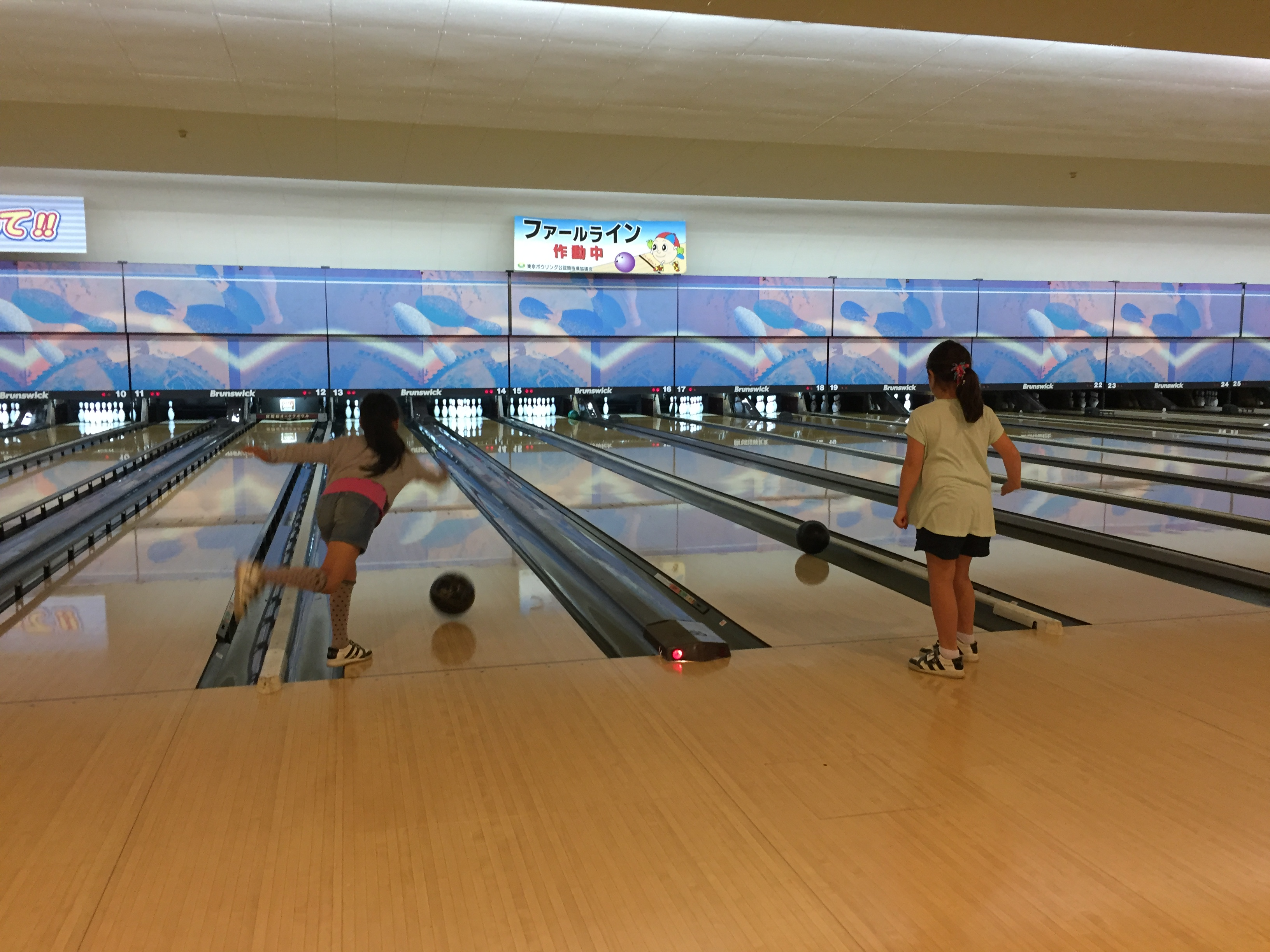 all sports campers go bowling summer school blog
